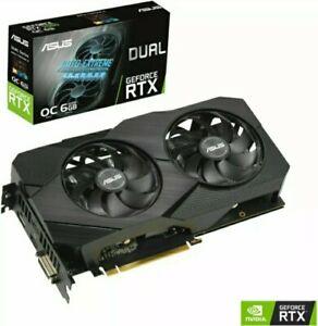 ASUS GeForce RTX 2060 Dual EVO OC 6GB GDDR6 - Gaming Grafikkarte - NVIDIA - NEU