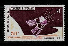 French Southern & Antarctic Territory Sc C11 NH  Satellite D-1 1966