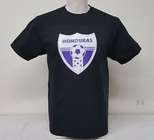 Honduras Men's T-shirt 100% Cotton Straight Fit Heat Press Logo