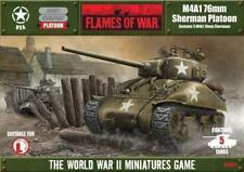 Flames of War UBX05 M4A1 76mm Sherman Platoon - Now OOP!
