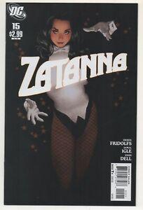 Zatanna #15  / Adam Hughes Cover / DC Comics