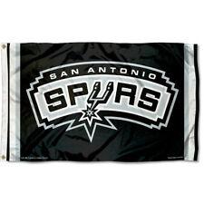 Nba San Antonio Spurs Large Outdoor 3x5 Banner Flag