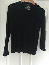 Superdry Navy cable knitted Jumper Medium