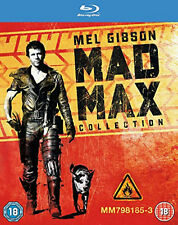 MAD MAX TRILOGY 1-3 COMPLETE BLU RAY Road Warrior / Beyond Thunderdome UK New R2