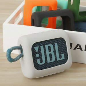 Silicone Case With Carabiner For JBL GO 3 Portable Wireless Bluetooth Speaker