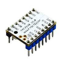 TMC2130 Modulo de conductor de motor paso a paso para grabado del CNC de la 9E3