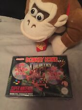 Snes ~ Donkey Kong Country CD Pack Mint With Original Sleeve Bag~ Super Nintendo