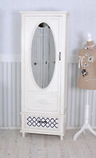 Hallway Cupboard Country Style Wardrobe White Wardrobe Clothing Closet Antique