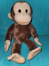 """Kohl's Cares Curious George Monkey Plush 16"""" Brown Book Tv Show Character Toy"""