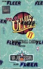NBA Fleer Ultra 1992/93 Series 2 BOX - Basketball Cards 36 Packs