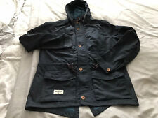 LAARGE ONE TRUE SAXON NAVY FISHTAIL PARKA ..80'S CASUALS..LIAM GALLAGHER.OASIS