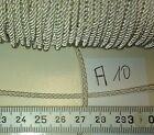 German WW2  Officers collar    silver metal braided 2mm cord  1  Meter       A10