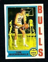 NMT 1974 Topps Basketball #69 Tom Boerwinkle.