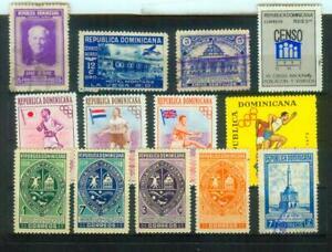 Lot Briefmarken aus der Dominikanischen Republik