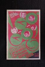 The Go Goes 1981 tour poster Santa Barbara Fleshtones