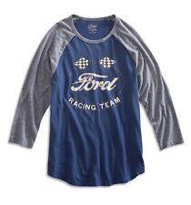 Lucky Brand - NWT $49 - Men's XL - Ford Racing Team 3/4 Sleeve Baseball T-Shirt