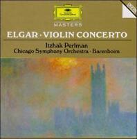 Itzhak Perlman Elgar: Violin Concerto; Chausson: PoŠme CD Deutsche Grammophon