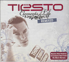 TIESTO Elements Of Life REMIXED 2008 12-track CD NEW/SEALED EXCLUSIVE TRACK