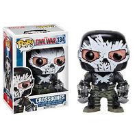 Funko Civil War POP Crossbones Bobble Head Vinyl Figure NEW Toys Marvel