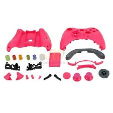Wireless Controller Full Case Shell Cover Housing + Buttons For XBox 360 Pink CA