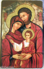 Image pieuse plastifiée Sainte Famille 8,5 cm x 5,5 cm