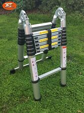 4.4M Telescopic Aluminum Folding Ladder Extension Extendable Steps-JET0214A