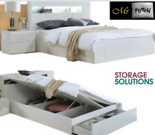 white queen beds and bed frames for sale ebay rh ebay com au