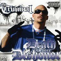 Mr. Criminal - Death Before Dishonor [New CD] Explicit