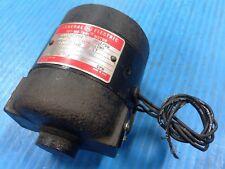 USED GE GENERAL ELECTRIC 5BC26AC205D THY-MO-TROL MOTOR 1/50 HP 1725/85 RPM (I2)