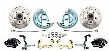 1964-1972 GM A, F, X Body Disc Brake Conversion Wheel Kit w/ Wilwood Calipers