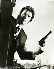 Dirty Harry 357 Magnum Clint Eastwood as Dirty Harry San Francisco Bridge GREAT