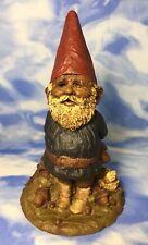 "EX RARE Large Vintage Tom Clark ""Forest Gnome"" Figurine #15 Mushroom Signed GVC"