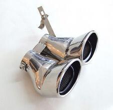 Doble Silenciador de Tubo Escape Acero para Mercedes Benz AMG Clase C W203 C240