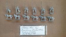 15mm Mini Figs Renaissance Mounted Medium Turkish Cavalry