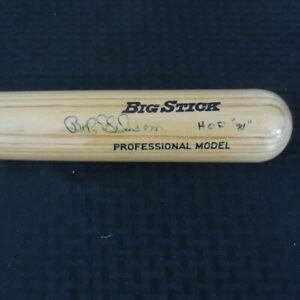 Bob Gibson HOF 81 St Louis Cardinals Autograph Full Size 32 inch Bat #3