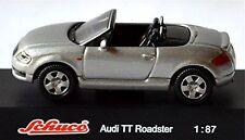 Audi TT Roadster Type 8N 2000–06 argent argent métallique 1:87 Schuco