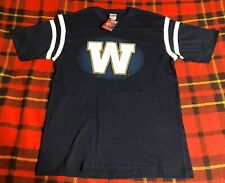Mens CFL Canadian Football League Winnipeg Blue Bombers Shirt Sz M NEW