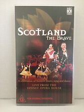 SCOTLAND THE BRAVE ~ LIVE SYDNEY OPERA HOUSE ~ RARE BRAND NEW & SEALED VHS VIDEO