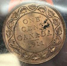 1911 Canada Large Cent Excellent UNC condition