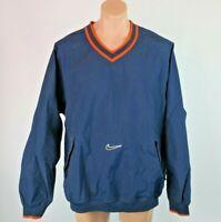 VTG 90s 00s Nike Windbreaker Pullover Mens Sz XL Denver Broncos Football Jacket