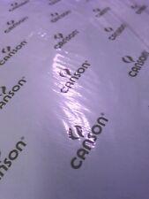 CANSON COLORLINE - 50x70cm - 220 g/mq - COLORE 17 LILLA - 2 FOGLI