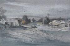 Kenneth Jack R.W.S 1924-2006 Australian Watercolour Painting Mt Egerton SFAA