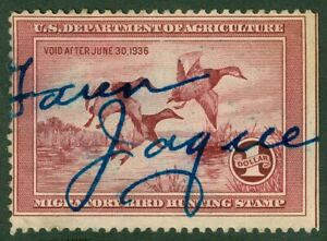 EDW1949SELL : USA 1935 Scott #RW2 Used. Small faults. Retail