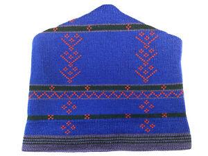 VTG Patagonia Wool Blend Blue Beanie One Size Toboggan Hat Ski Cap