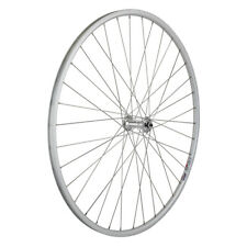 "Weinmann LP18 Silver Bicycle Bike 27"" Front Wheel Only 36h Non-Machined brake"