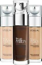 L'OREAL True Match Foundation 30ml SEALED - various shades