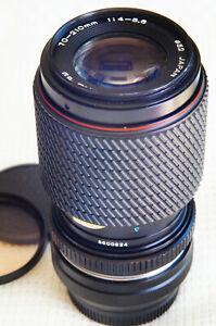 70-210mm ZOOM LENS KIT for Olympus or Panasonic Micro 4/3 camera      ....Tokina