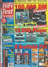 HiFi Test TV VIDEO Sony JVC I.Q. Teufel Sennheiser Grundig Samsung Technics Koss