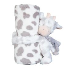 Clayre EEF Blanket Children's Blanket Cover 75 100cm Plaid Cow