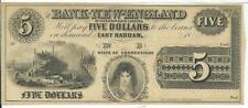$5 East Haddam Connecticut Bank New England Goodspeed's Landing G22a Ship Yard